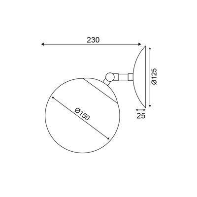 Nástěnné svítidlo Joint - 2
