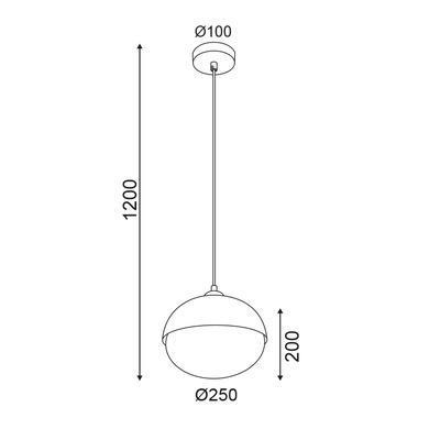 Závěsné svítidlo Acorn - 2 - 2