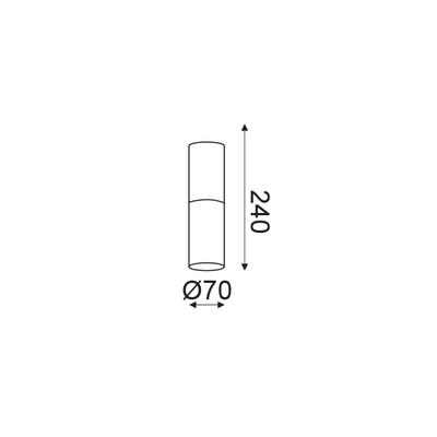 Stropní svítidlo Pipe - 2 - 2