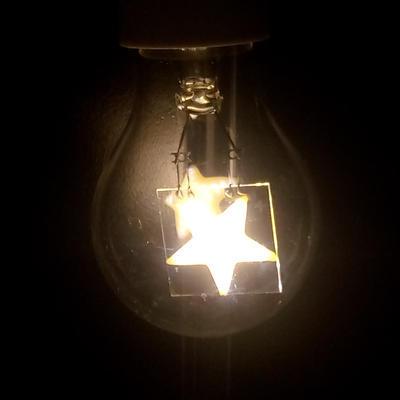 LED žárovka Filament STAR E27 2W - 2