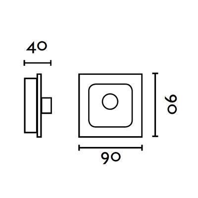 Nástěnné ovládání k ventilátorům Faro - 2