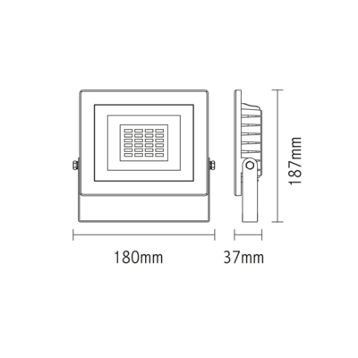 LED reflektor 20W - bílý - 2
