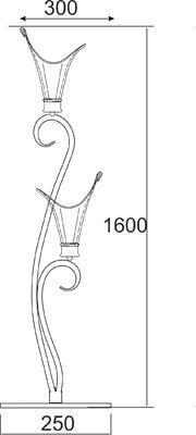 Stojací lampa Arum - 2