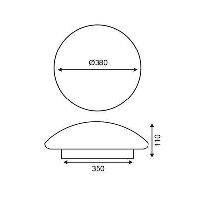 Stropní LED svítidlo 9 - Cosmos - 3