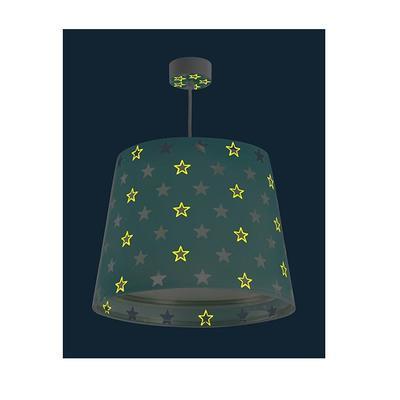Dětské závěsné svítidlo Stars, zelená - 3