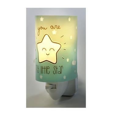 Noční lampička My Little Star, zelená, zelená - 3