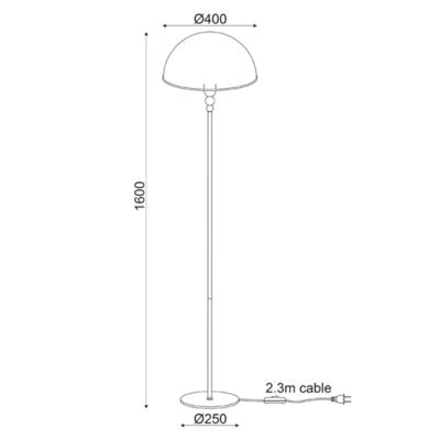 Stojací lampa Marble - 3