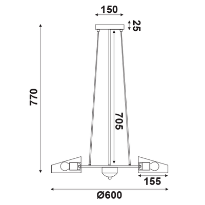 Závěsné svítidlo Grater - 2 - 3