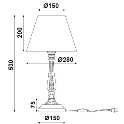 Stolní lampa Sail - 3