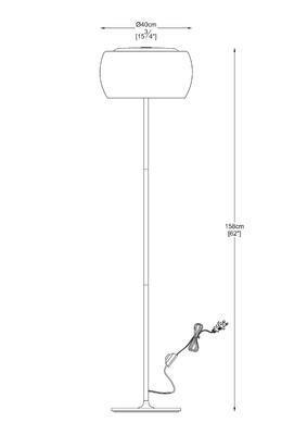 Stojací lampa CRYSTAL - 3