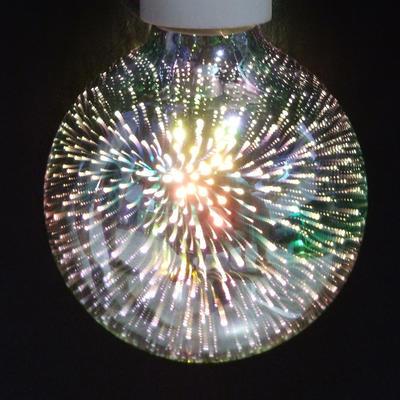 LED žárovka 3D Ball E27 4W - stmívatelná - 3