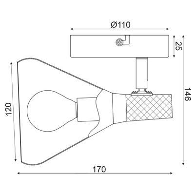 Stropní svítidlo Bell - 1 - 3
