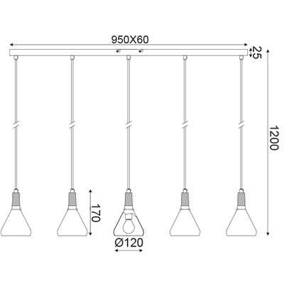 Závěsné svítidlo Bell - 2 - 3