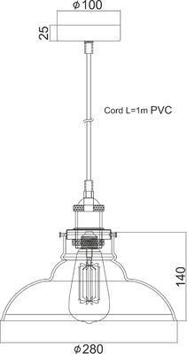 Závěsné svítidlo Torch - 2 - 3