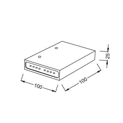 Nástěnné LED svítdilo Shelf - 1 - 3