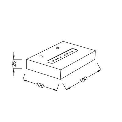 Nástěnné LED svítidlo Shelf - 3 - 3
