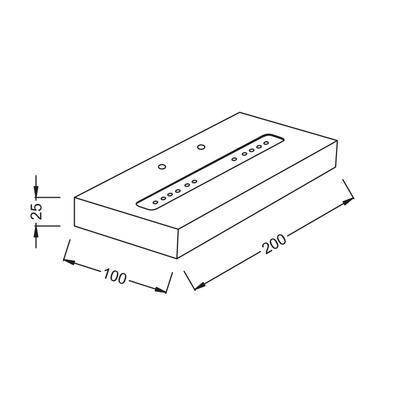 Nástěnné LED svítidlo Shelf - 5 - 3