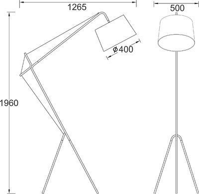 Stojací lampa Cubist - 3