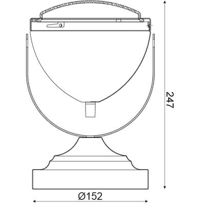 Stolní lampa Moto - 3