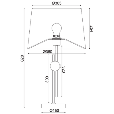 Stolní lampa Buckle - 3