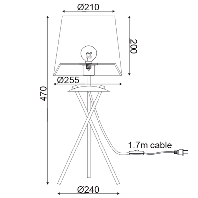 Stolní lampa Veneer - 3