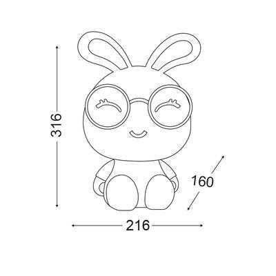 Dětská lampička Bunny - 3