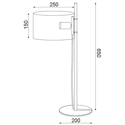 Stolní lampa Hoop - 3