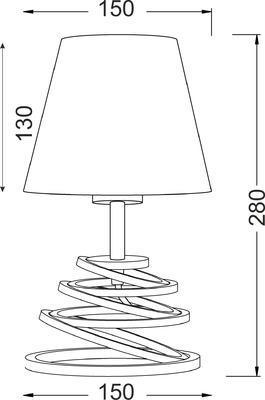 Stolní lampa Spring - 3