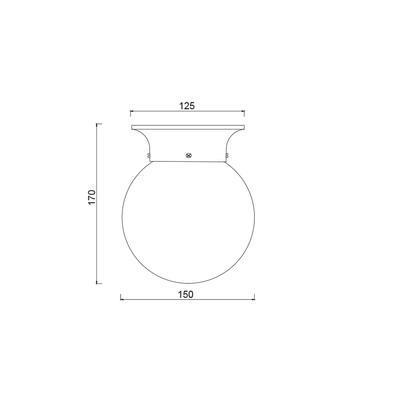 Stropní/nástěnné svítidlo Collar - 1 - 3