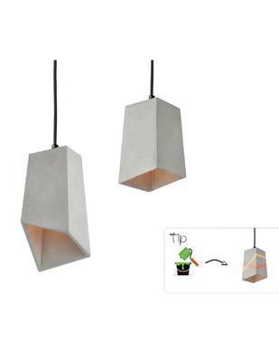 Závěsné svítidlo Cement Basket - 1 - 3