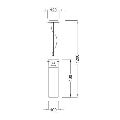Závěsné svítidlo Flask - 1 - 3