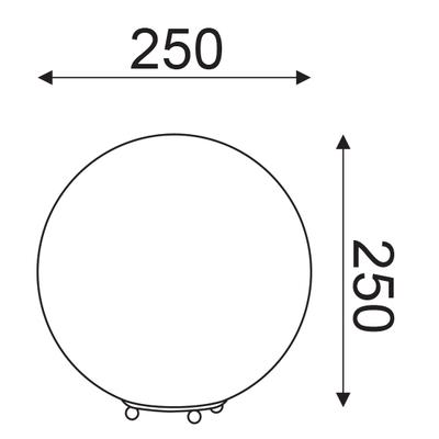 Stolní lampa Globe - S - 3