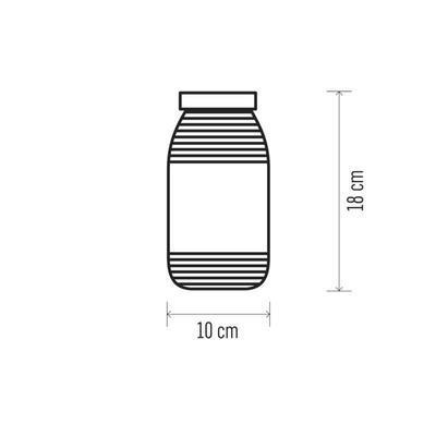 Dekorativní LED Zavařovačka - 3