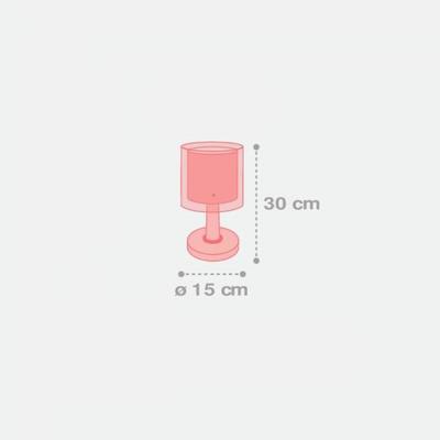Dětská stolní lampička Color Rain - 3
