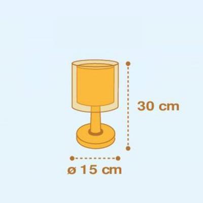 Dětská stolní lampička Submarine - 3