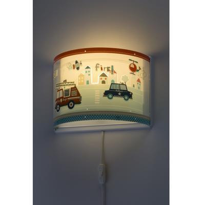 Dětské nástěnné svítidlo Police - 4