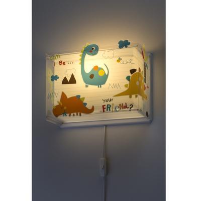 Dětské nástěnné svítidlo Dinos - 4