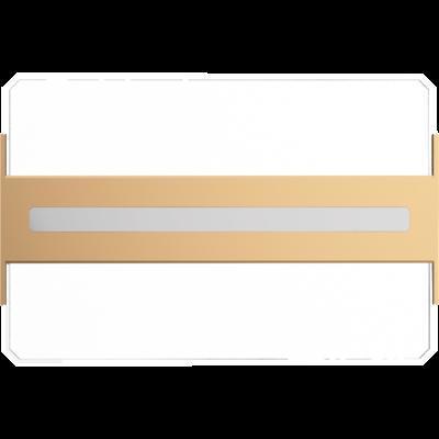 Stropní LED svítidlo Dalen 2Z Gold - 4