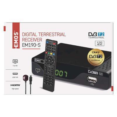 Set-top box DVB-T2 s externím přijímačem - 4