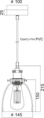 Závěsné svítidlo Torch - 1 - 4