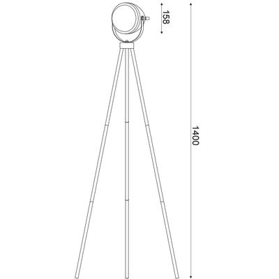 Stojací lampa Moto - 4