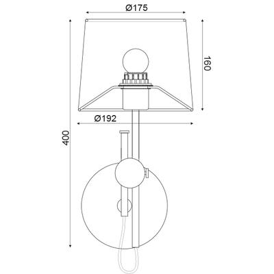 Nástěnné svítidlo Buckle - 4