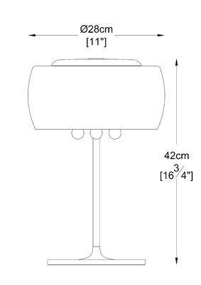 Stolní lampa CRYSTAL - 4