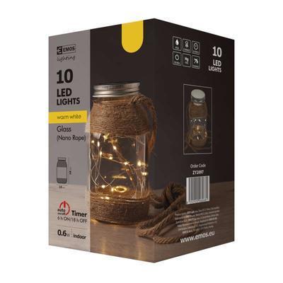 Dekorativní LED Zavařovačka - 4