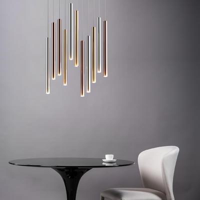 Závěsné LED svítidlo LOYA - 1, zlato - 4