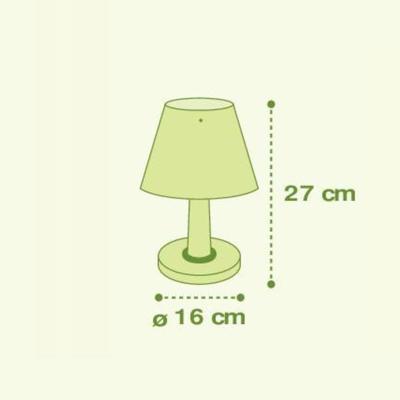 Dětská stolní lampička Little Zoo - 4