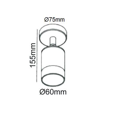Fasádní svítidlo Turn - 5