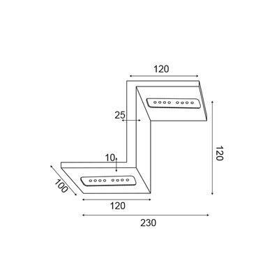 Nástěnné LED svítidlo Tetris - 2 - 5