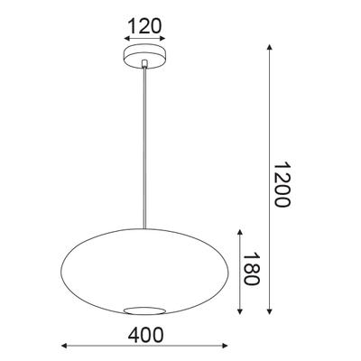 Závěsné svítidlo Colander - 4 - 5