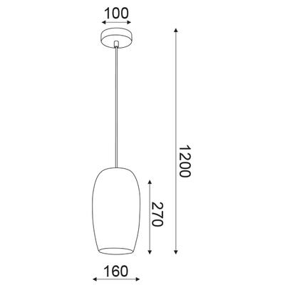 Závěsné svítidlo Colander - 5 - 5